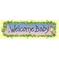 Nighty Night Bazooples Baby Shower GIANT Banner